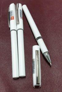 خودکار سفید تبلیغاتی